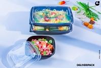 Un emballage développé par Groupe Guillin pour la vente à emporter