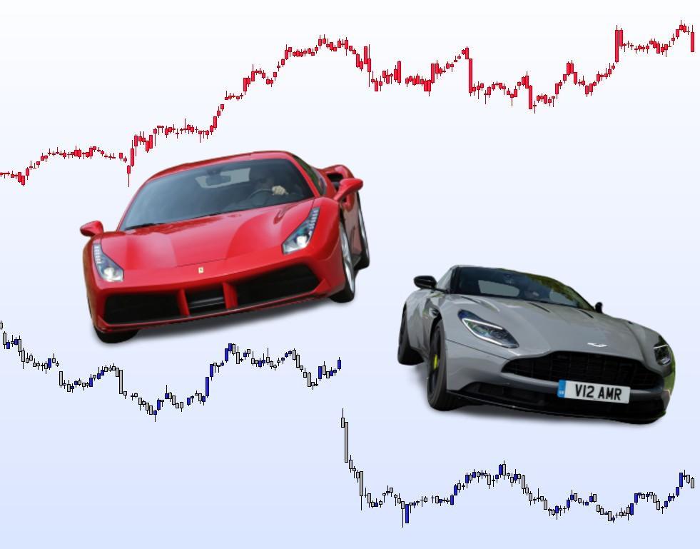 Pourquoi Ferrari atomise Aston Martin en Bourse
