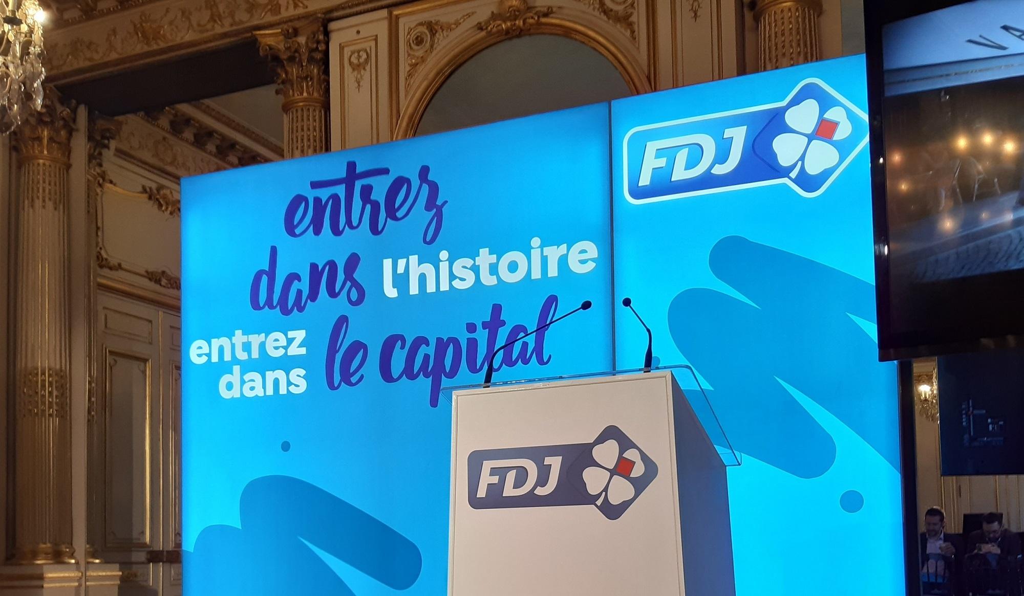 Fdj : L'action FDJ clôture sa première journée en Bourse en hausse de 14,1% à 22,70 euros