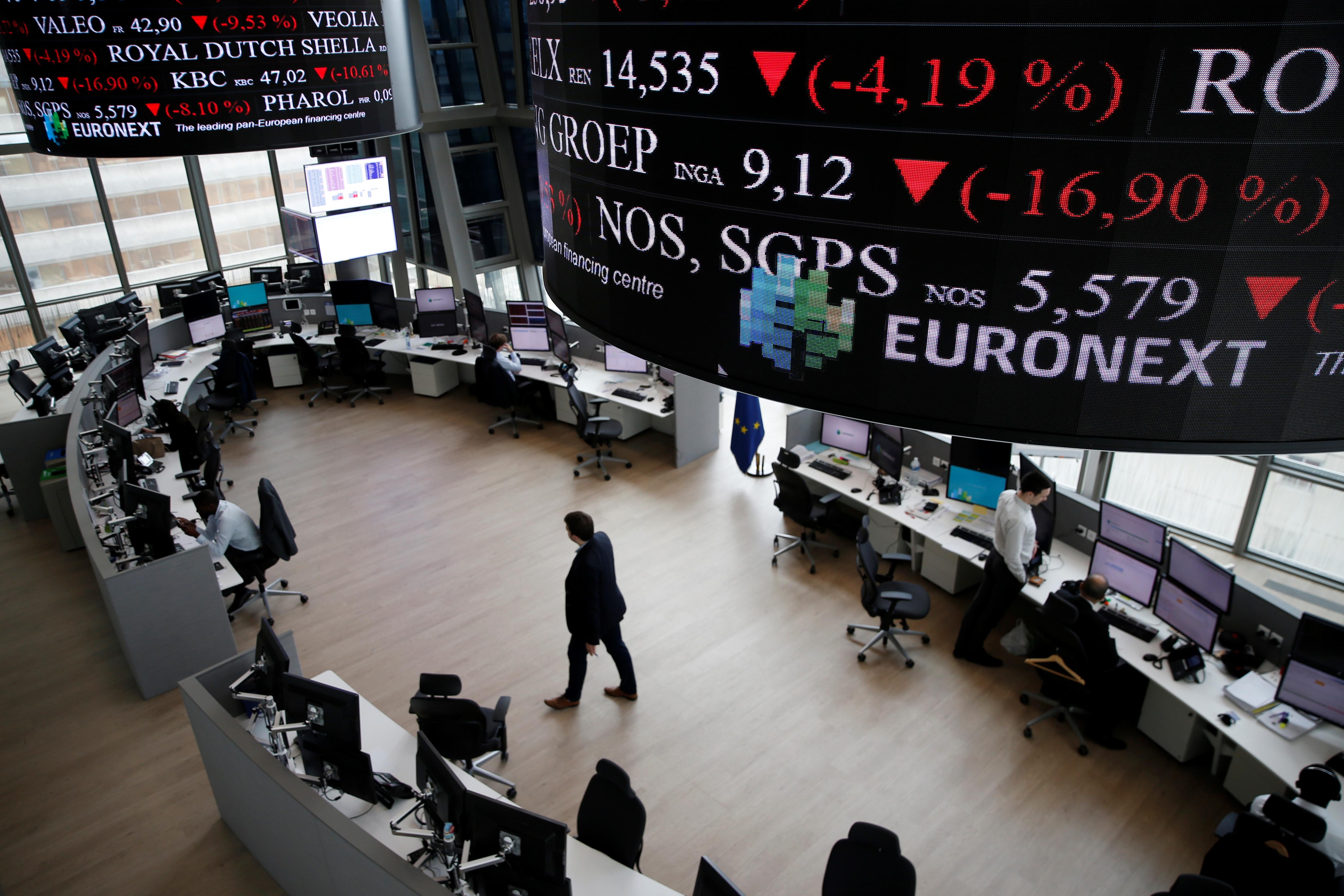 CAC 40 : L'indice parisien a ouvert la séance en baisse de -0.57%