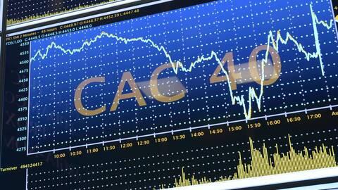 Cac 40 : Les bénéfices des groupes du CAC 40 ont fondu de moitié en 2020 - BFM Bourse