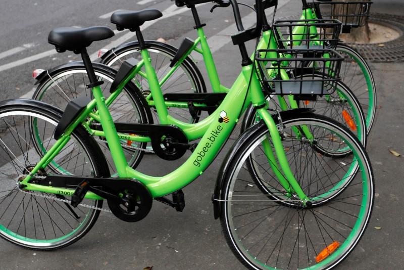 Marché : Nouveau revers pour les vélos Gobee.bike, qui quittent Paris