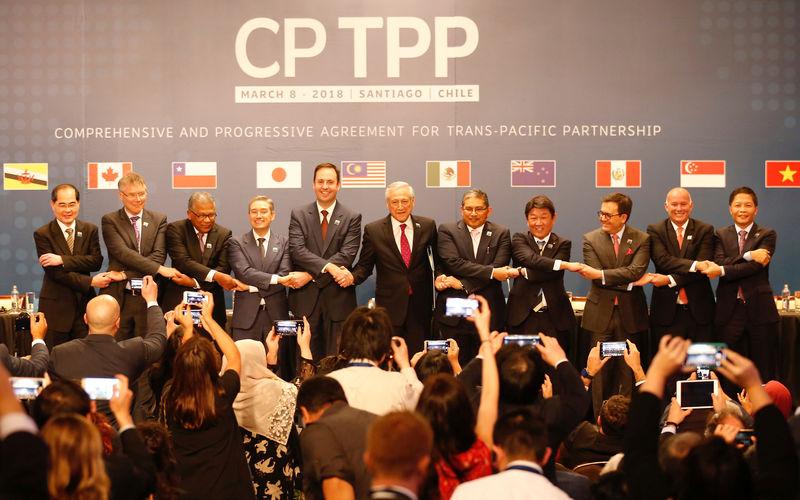 Onze pays de la zone Pacifique s'engagent dans le libre-échange