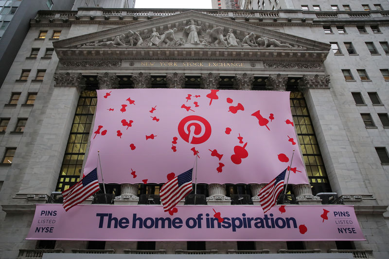 Pinterest : l'action bondit de 28 % pour son premier jour de cotation