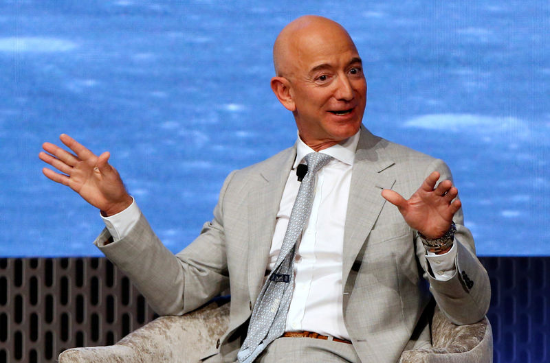 Jeff Bezos a vendu pour 1,8 milliard de dollars d'actions Amazon